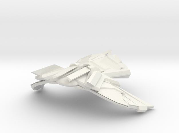 Kellderon Fighter in White Natural Versatile Plastic