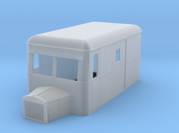 OO9 rail bus 4w goods 3d printed