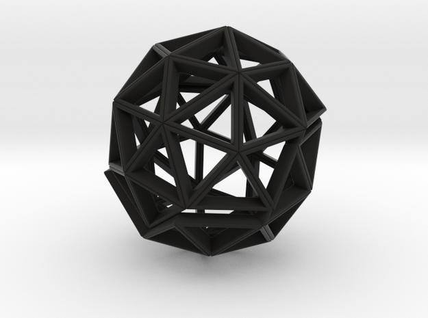 Polyhedral Sculpture #30 (3.7 cm) 3d printed