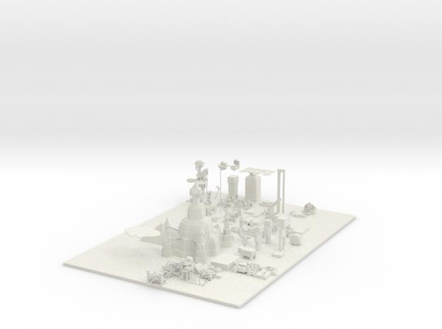 server world 3d printed