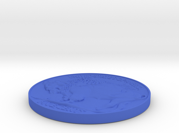 Indian head Coin 3d printed