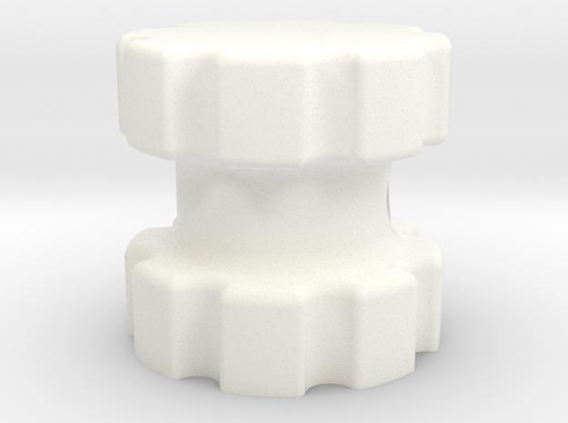 Gearhead knob 3d printed