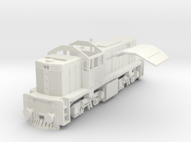 QR DH(S/1:64 Scale) in White Strong & Flexible
