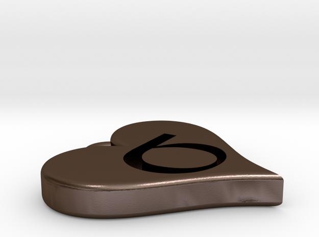 Sigma Bond Pendant (Single) 3d printed
