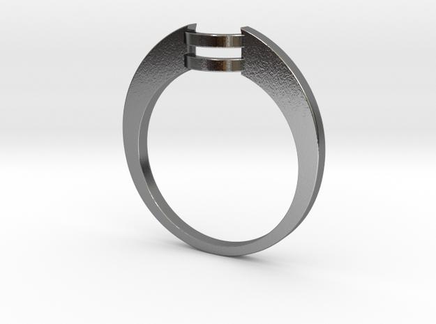 Custom Wedding Band v4 3d printed