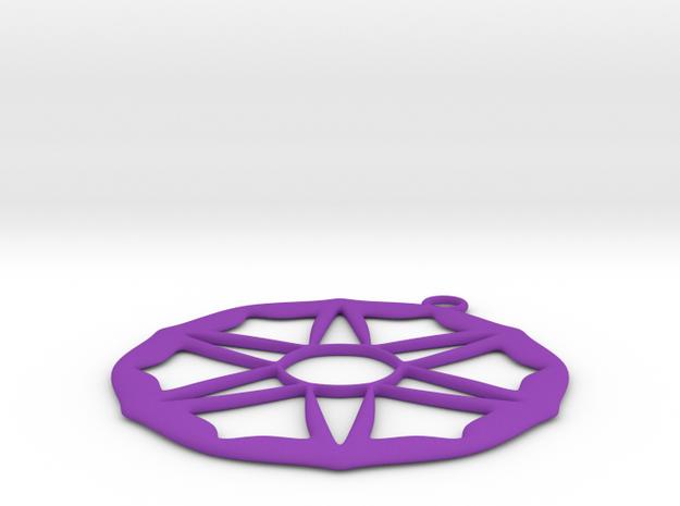 xmas one in Purple Processed Versatile Plastic
