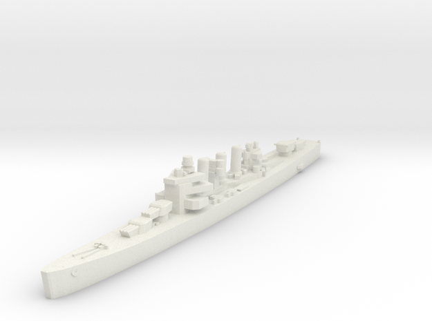 Bywater Cincinnati Cruiser 1:1800 x1 in White Natural Versatile Plastic
