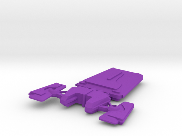 Andorian Cruise Destroyer 3d printed
