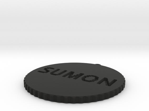 by kelecrea, engraved: SUMON HASAN 3d printed