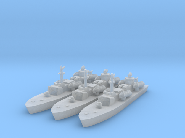 1/1250 Soviet OSA-2 Missile boat in Frosted Ultra Detail