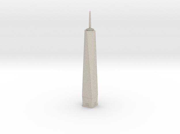 1 WTC 3d printed
