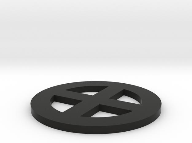 qc -- 2.5 dia, thin 3d printed