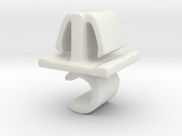 Motorkap stang steun. 3d printed