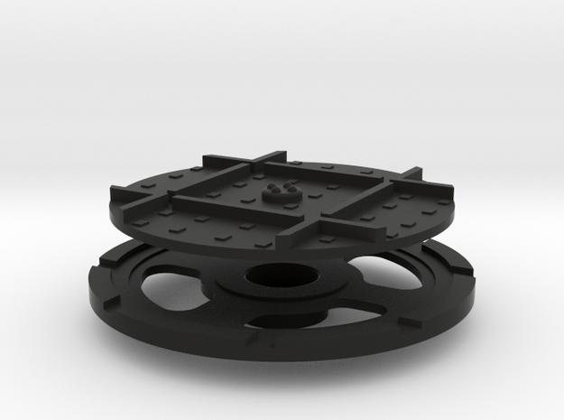On16 wagon turntable 35mm diameter 3d printed