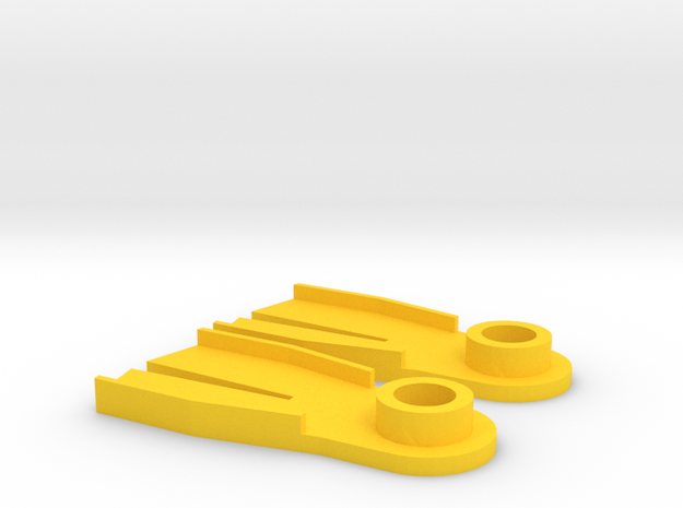 Minifig Splitfin without blade angle  3d printed