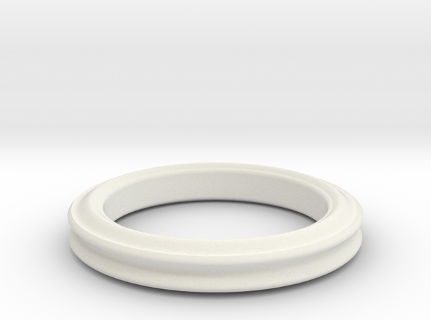 Sinus periodic ring 3d printed