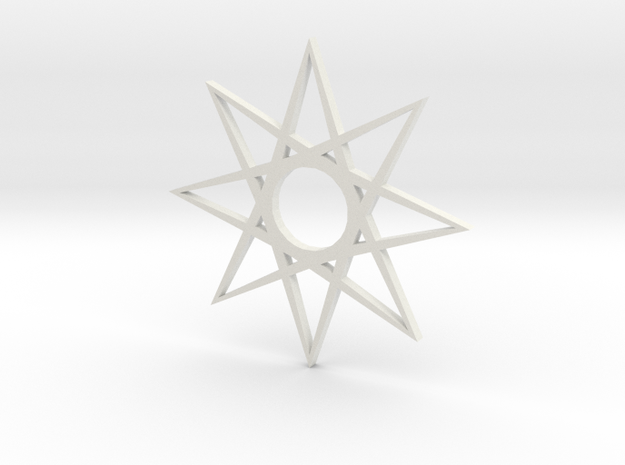 star1 ornament by Jorge Avila 3d printed