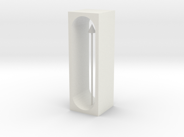 pendulum in White Natural Versatile Plastic