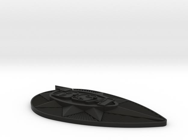 plasticBadgeLH 3d printed