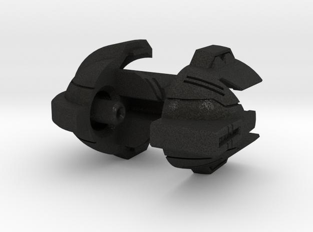 Impactor Head Smaller Voyager Scale in Black Acrylic