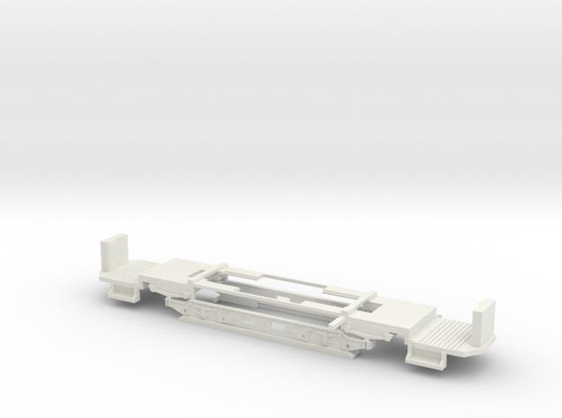 Fahrgestell Wien T Zweiachser Holzverglast in White Natural Versatile Plastic