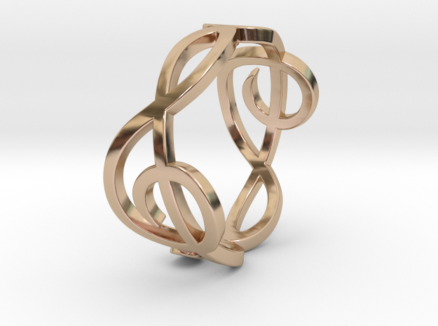 Treble Clef Ring 2 3d printed
