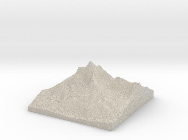 MONTE CERVINO - MATTERHORN MOUNTAIN  02 3d printed