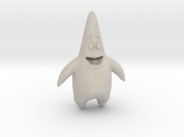 Patrick Star - From Sponge Bob Square Pants 3d printed