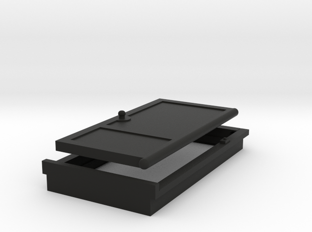 Door 1:32 1:35 54mm miniature 001 3d printed