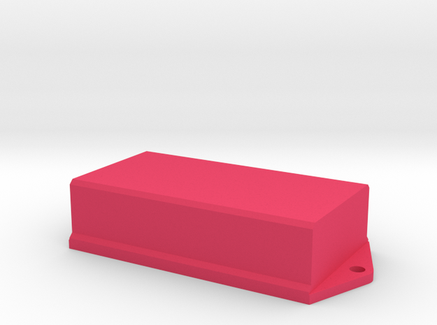 AAA PCB Battery Case 3d printed