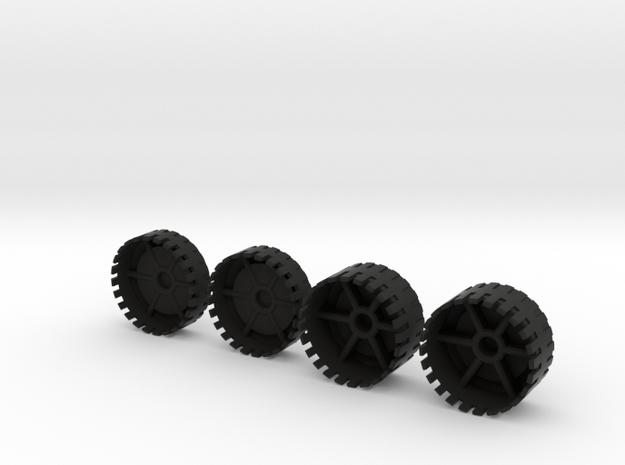 Echotransformer Hercules Upgrade V5  wheels only 3d printed