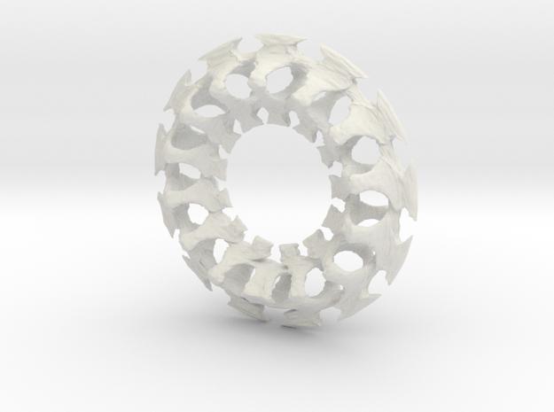 Rib Charm 3d printed