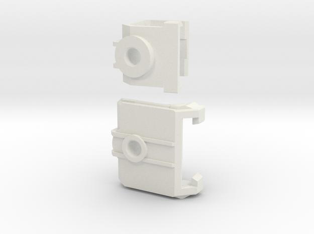 Echo Herc Kit v5  Elbows only in White Natural Versatile Plastic