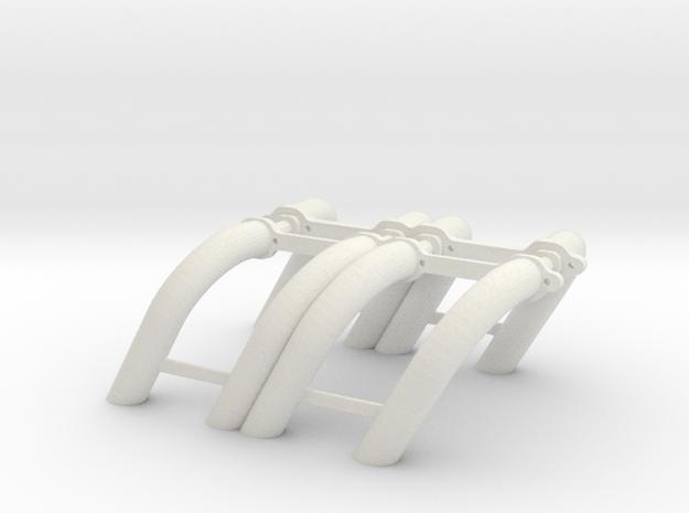 1/8 SBC Zoomie Headers 3d printed