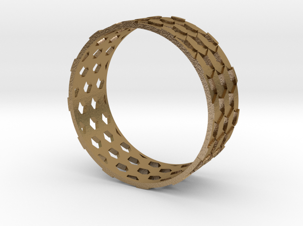 Parquet Deformation Ring (57mm) 3d printed