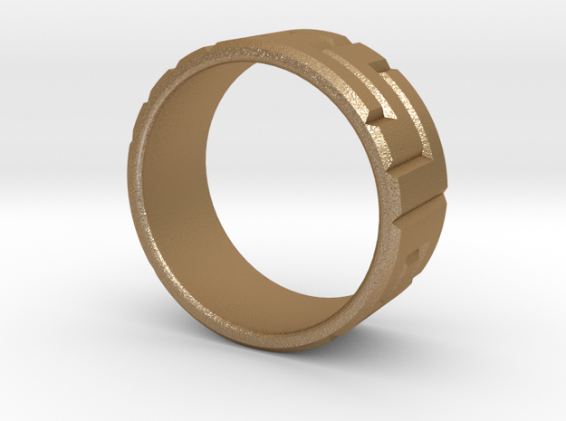 Pentomino ring, 60mm circumference 3d printed