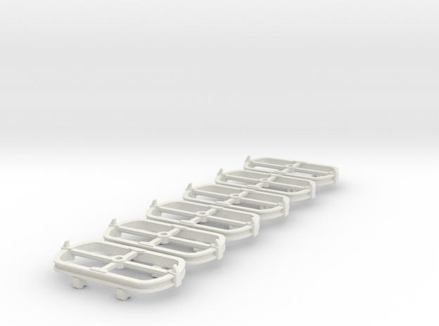 O9 Skip bogie chassis 3d printed