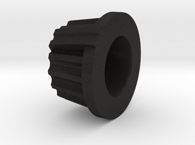 round knob in Black Acrylic
