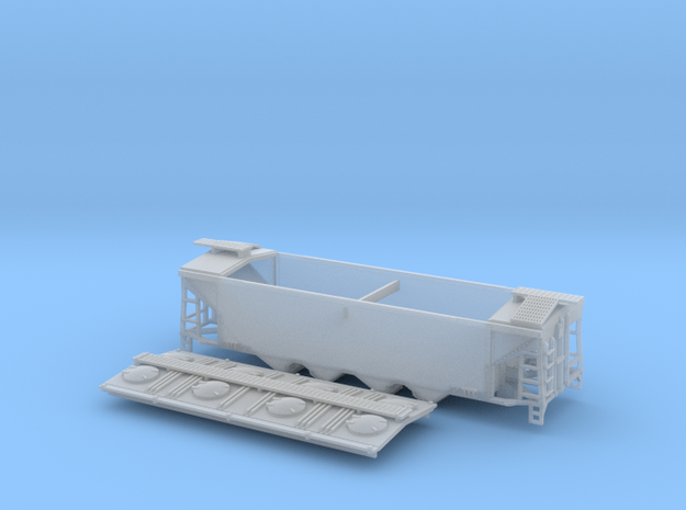 U8 TT Scale (1:120) with Roofwalk in Smooth Fine Detail Plastic