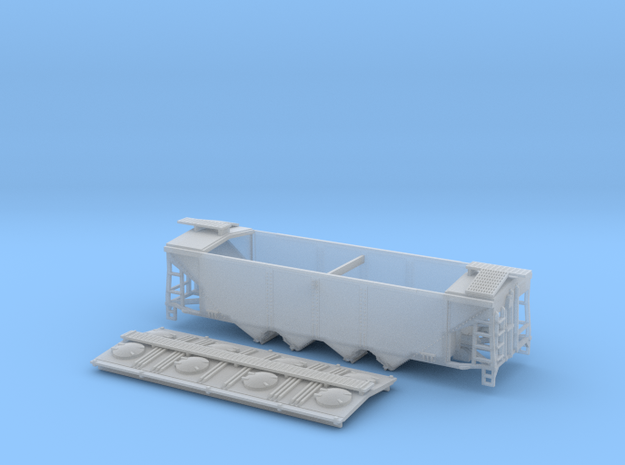 U12 TT Scale (1:120) with Roofwalk in Smooth Fine Detail Plastic