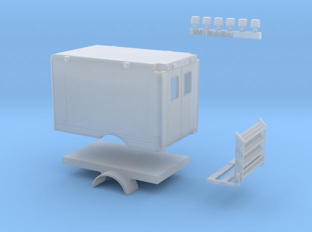 0004-RTW Aufbau für Geländefahrzeug in Smooth Fine Detail Plastic
