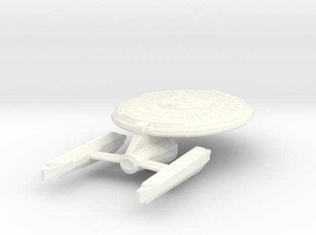 USS Pallagor in White Processed Versatile Plastic