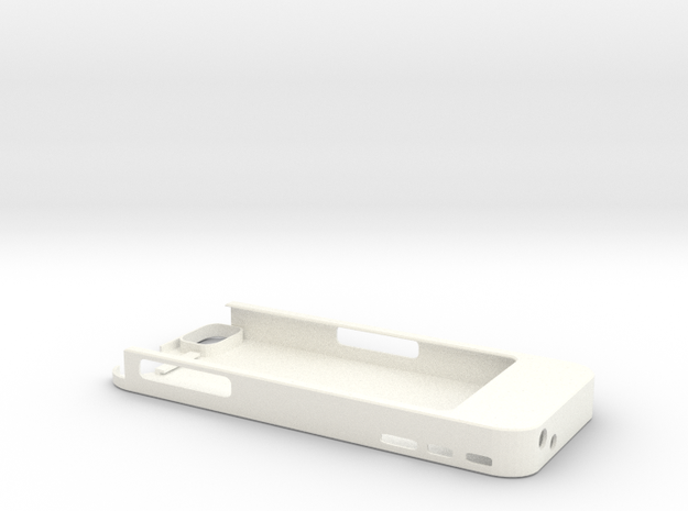 iPhone5 5s 5c 1500mah Charger with USB Power Out 3d printed