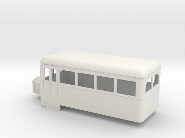 On16.5 Railbus single end 3d printed
