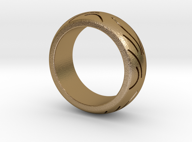 Motorcycle Low Profile Tire Tread Ring Size 8 3d printed