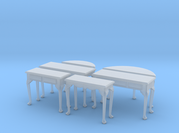 1:48 Queen Anne Table Set 3d printed
