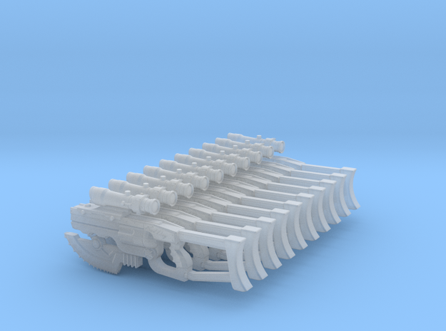 Angry Marines M39-011 Bad Day fully loaded (x10) 3d printed