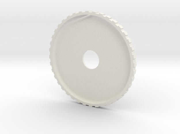 friction gear 1 in White Natural Versatile Plastic