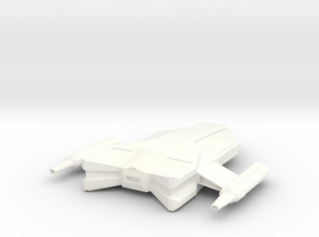 Shuttle Type G-23.5 in White Processed Versatile Plastic