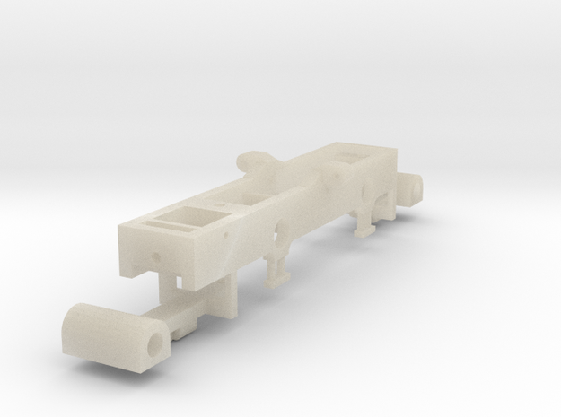 4mm scale GNRi JT class 2-4-2 tank Chassis